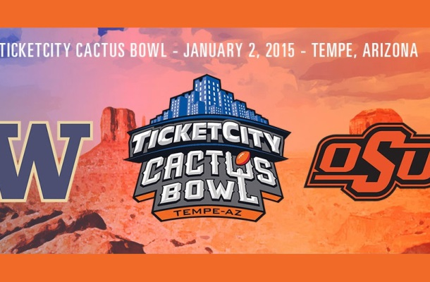 TicketCity Cactus Bowl Preview: Washington vs. Oklahoma State