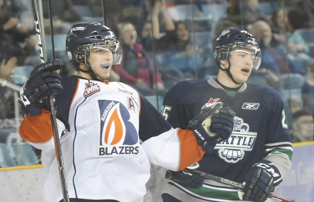 T-Birds Fall 3-2 in a Heartbreaking Shootout to Kamloops