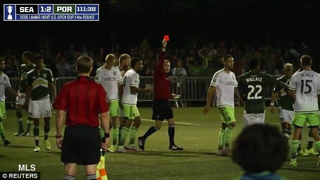Seattle Sounders FC: Duece suspended for a minimum 2 years from U.S. Open Cup play.