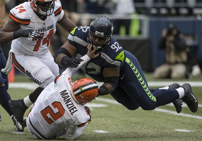 Elite Wilson-Baldwin connection lead Seahawks to 30-13 victory over Browns