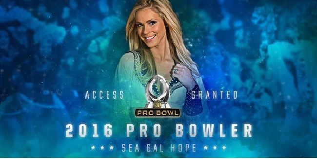 SSU congratulates 2015 Pro Bowl selection: Sea Gal Cheerleader Hope