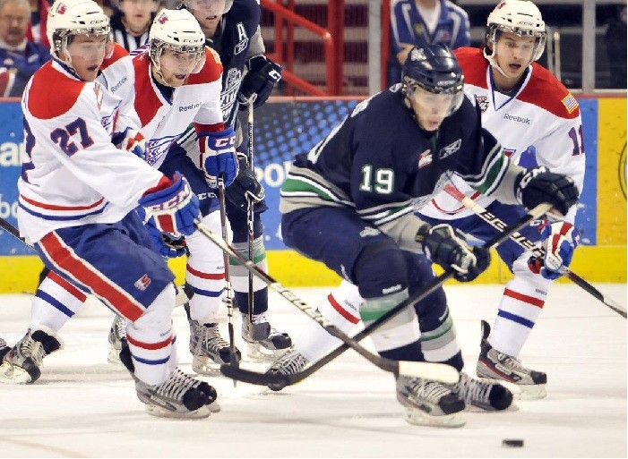 Seattle Thunderbirds Anemic power play costs Tbirds in Spokane, lose 2-4