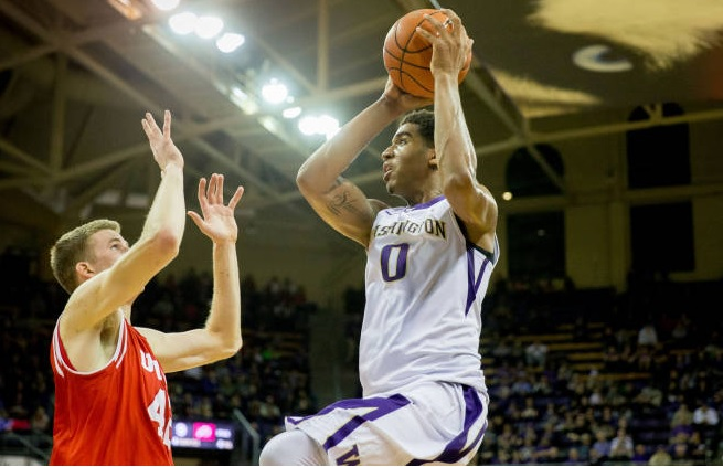 The Runnin Utes slip past Huskies in OT, 75-80
