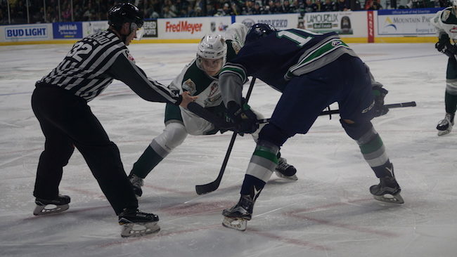 Reaction: Silvertips show Hart but fall to Thunderbirds 4-3 in overtime