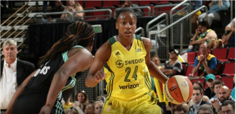 Roundball Roundup: Storm on a roll, wins over Liberty and Fever mark a 4 game winning streak