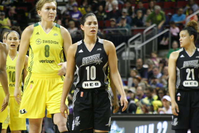 Tough return for UW's Kelsey Plum, Storm destroy Stars 75-57