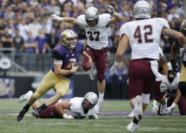 Dante Pettis sets the Pac-12 record for punt return TDs as Huskies roll Grizz