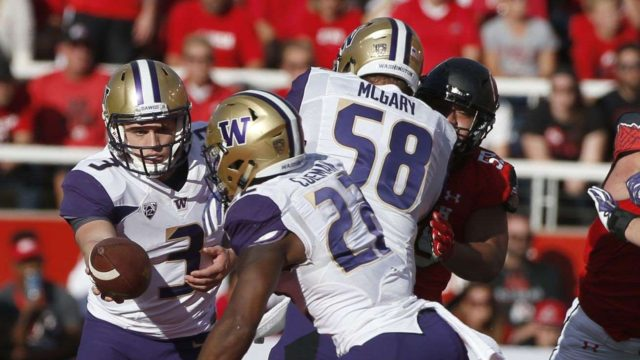 Huskies salvage pride with come behind victory against Utah