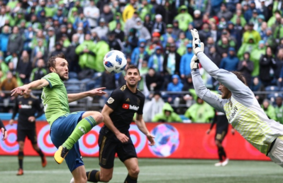 Sounders drop season opener to expansion LAFC 1-0
