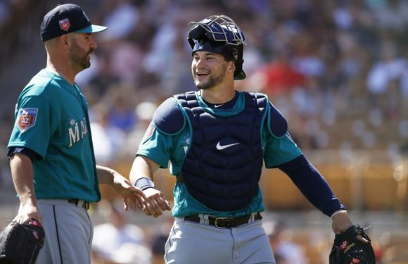 Mike Zunino makes his return to the Mariner's roster