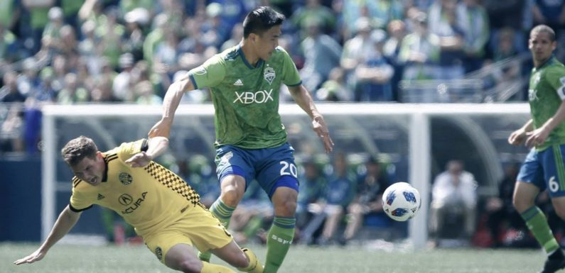 Sounders can't get past Crew's defense in a 0-0 tie