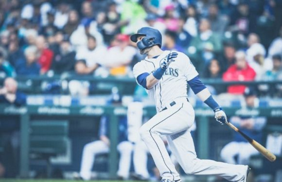Mariners use the broom-stick as well as the boom-stick to sweep the Angels