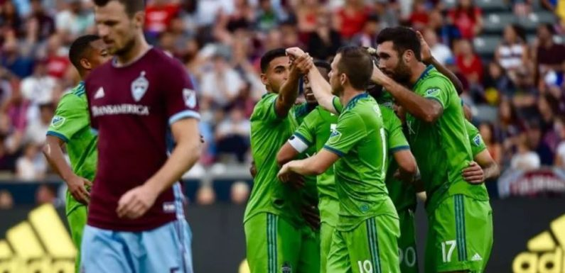 Will Bruin's brace wins the day as Sounders defeat the Rapids 2-1