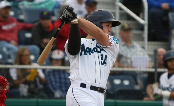 AquaSox Return Home in 1st Place on Independence Day