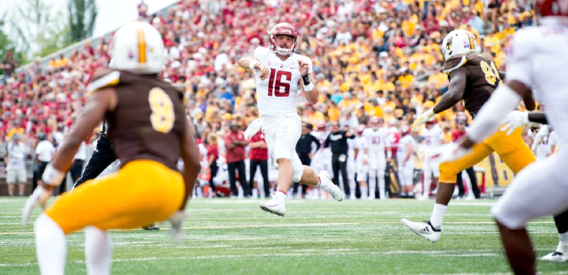 WSU Opens up the Minshew Era in High Fashion