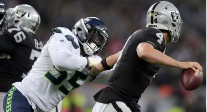 Seahawks crush Raiders 27-3 in jolly old England