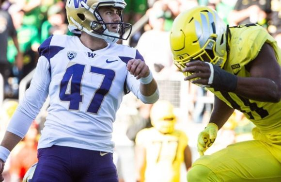Huskies Pac-12 title hopes in jeopardy with 27-30 loss to Oregon