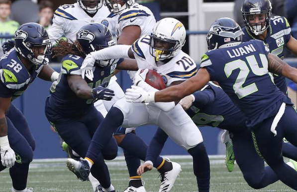 Too little, too late results in 25-17 loss as Chargers beat Seahawks
