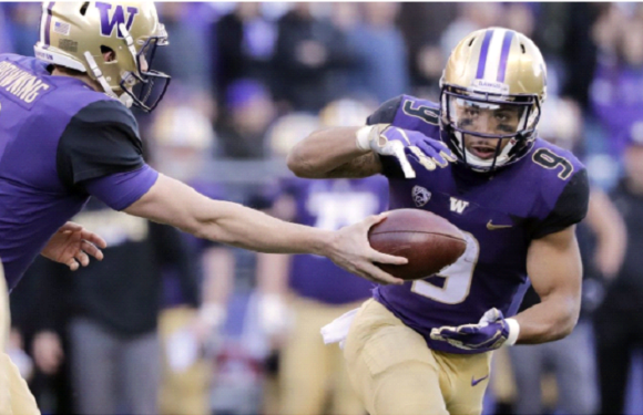 #17 Huskies build huge lead then cruise to 42-23 win over Beavers