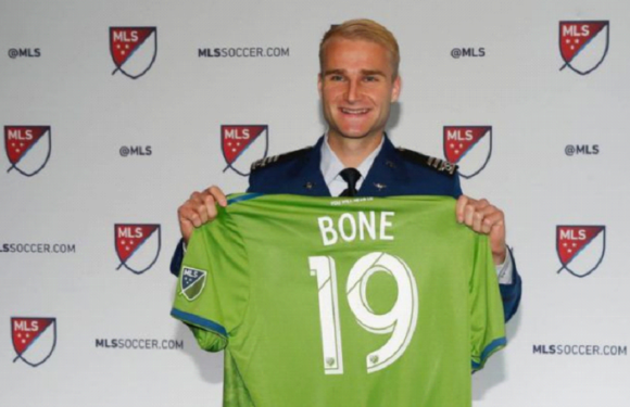 Sounders draft Air Force Academy's Tucker Bone